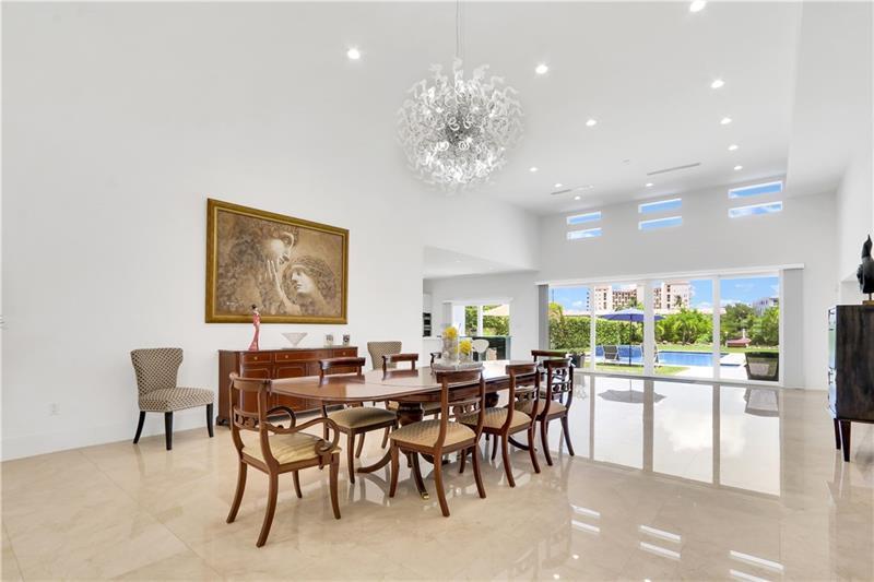 Luxury properties Beautiful Contemporary on intracoastal waterway