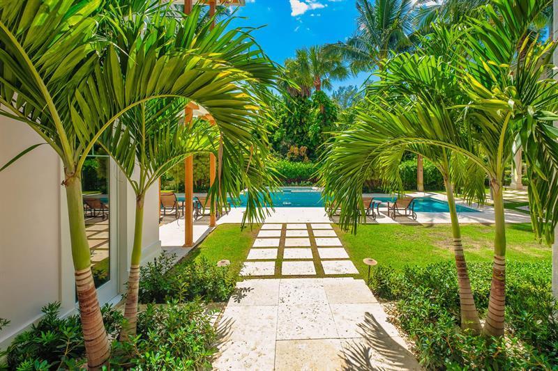 Key West style estate in Lago mar luxury homes