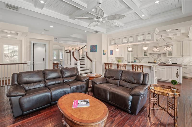 Luxury properties Key West style estate in Lago mar