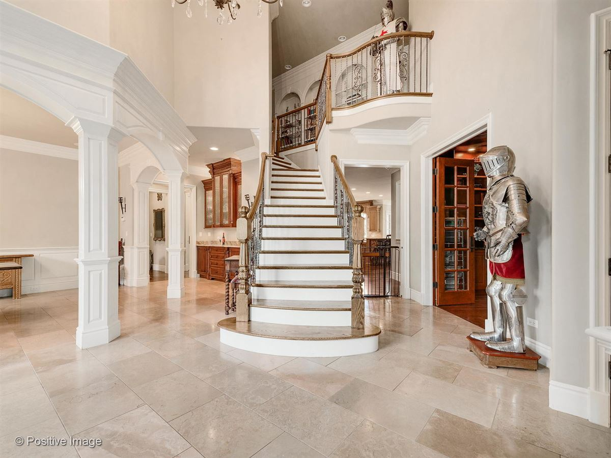 Luxury homes Stunning all stone three story home
