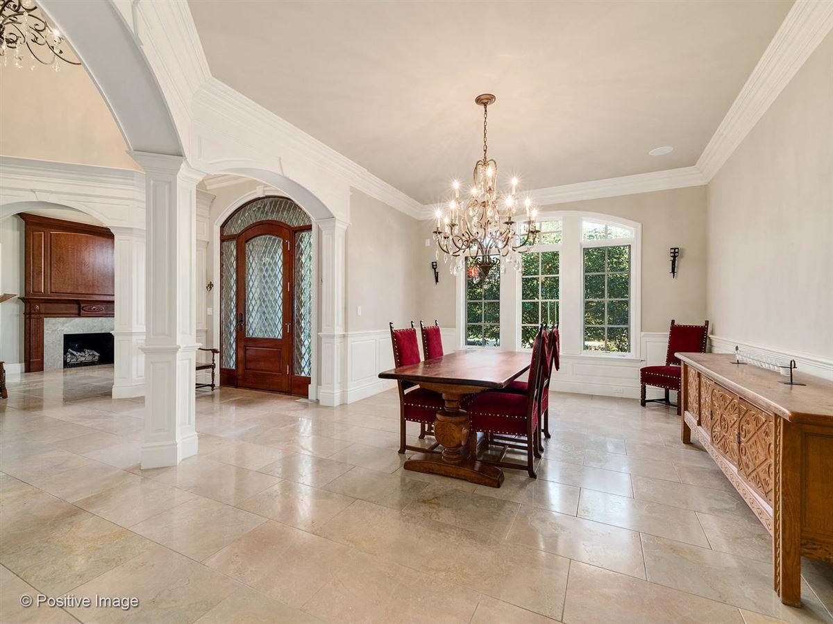 Stunning all stone three story home  luxury homes