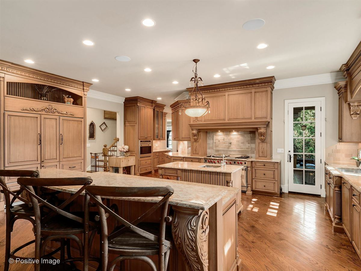Luxury homes in Stunning all stone three story home
