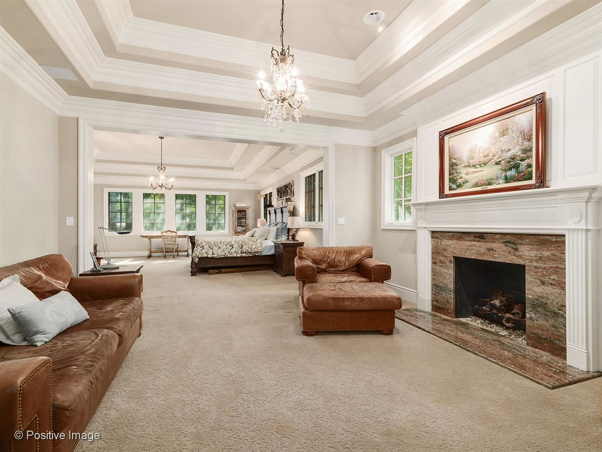 Luxury real estate Stunning all stone three story home