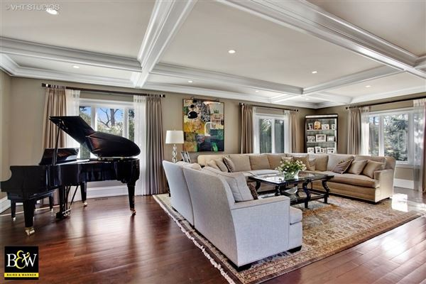 Mansions Elegantly remodeled classic home