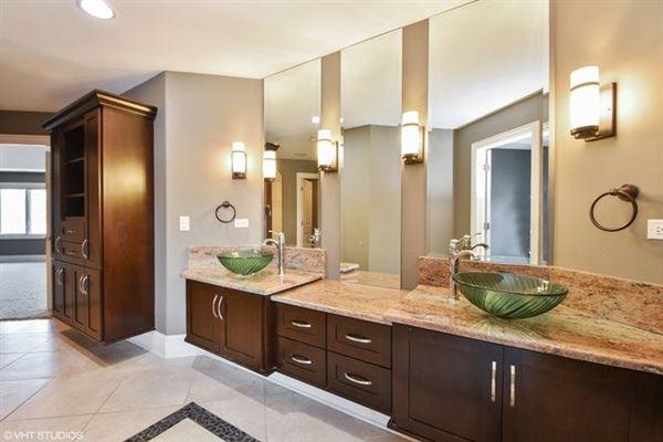 Luxury properties beautiful custom two-story home in Frankfort