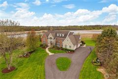 Luxury real estate magnificent property on a tranquil private lane