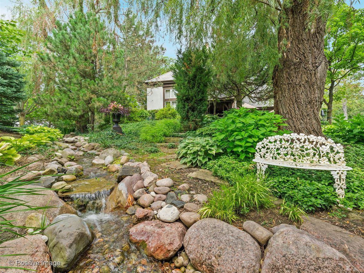Gorgeous grounds provide idyllic setting  luxury homes