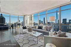 spectacular full-floor penthouse at the Pinnacle luxury properties
