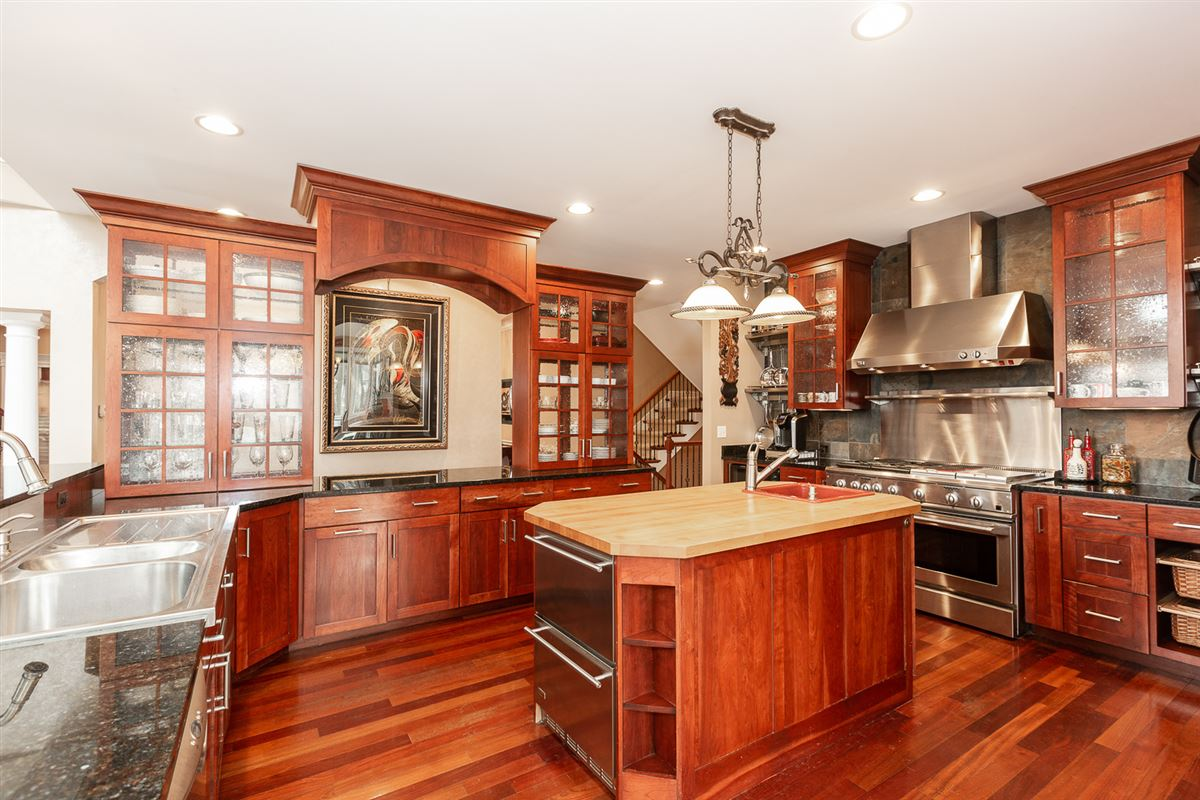 Luxury homes gorgeous home in Picturesque setting on wooded cul-de-sac lot