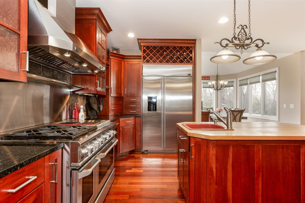 gorgeous home in Picturesque setting on wooded cul-de-sac lot luxury homes
