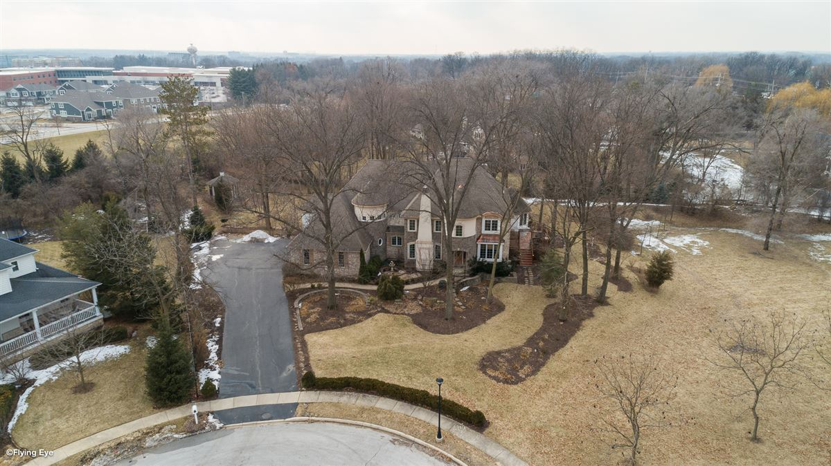 gorgeous home in Picturesque setting on wooded cul-de-sac lot mansions