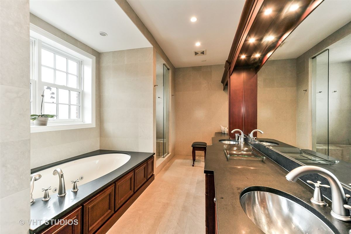 Fabulous center entrance home in premier West Lincoln Park location luxury real estate