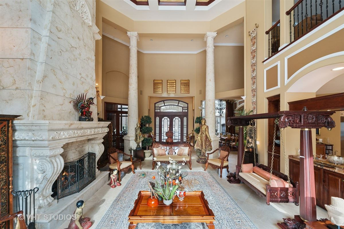 Luxury real estate Magnificent Estate Home on gorgeous wooded parcel