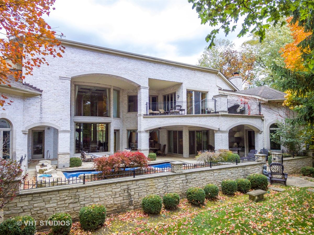 Magnificent Estate Home on gorgeous wooded parcel luxury real estate