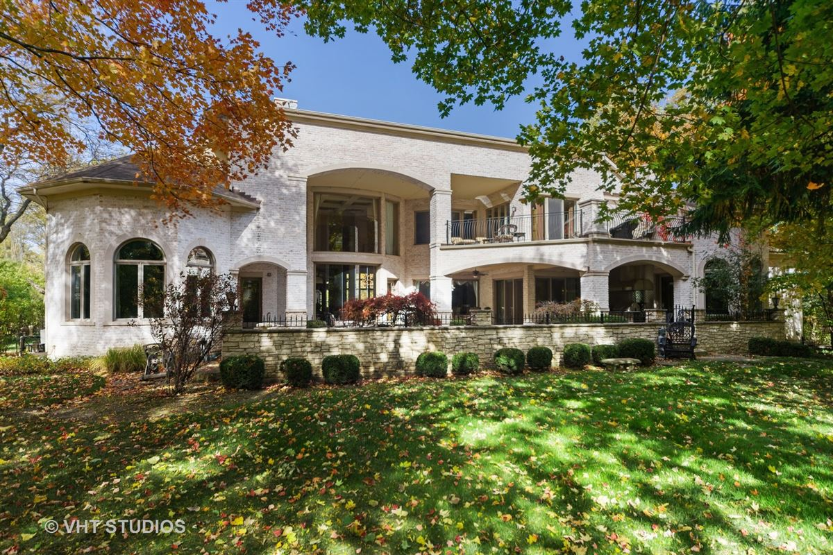 Luxury properties Magnificent Estate Home on gorgeous wooded parcel