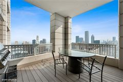 Luxury real estate half-floor penthouse with exceptional views and extraordinary space