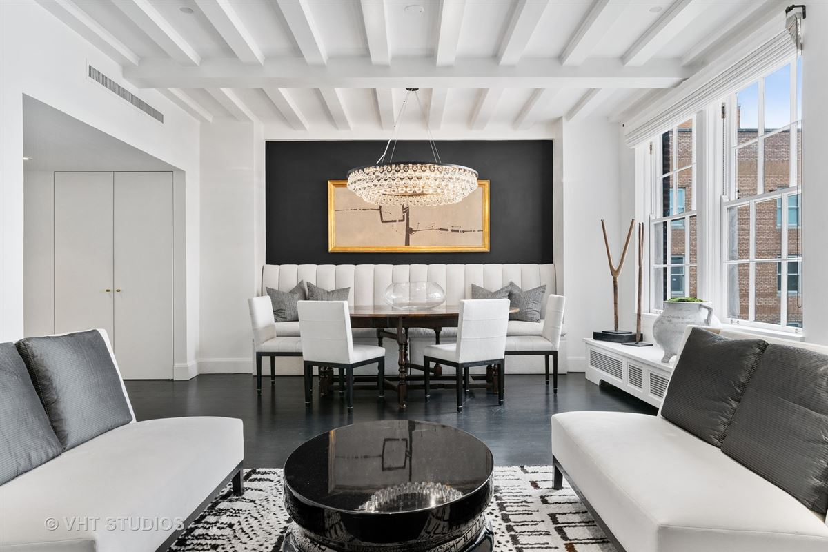 Luxury properties this exquisitefully renovated duplex residence boasts award winning details