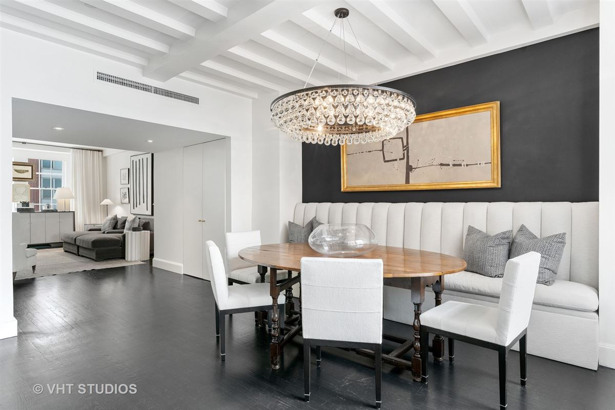 this exquisitefully renovated duplex residence boasts award winning details luxury properties