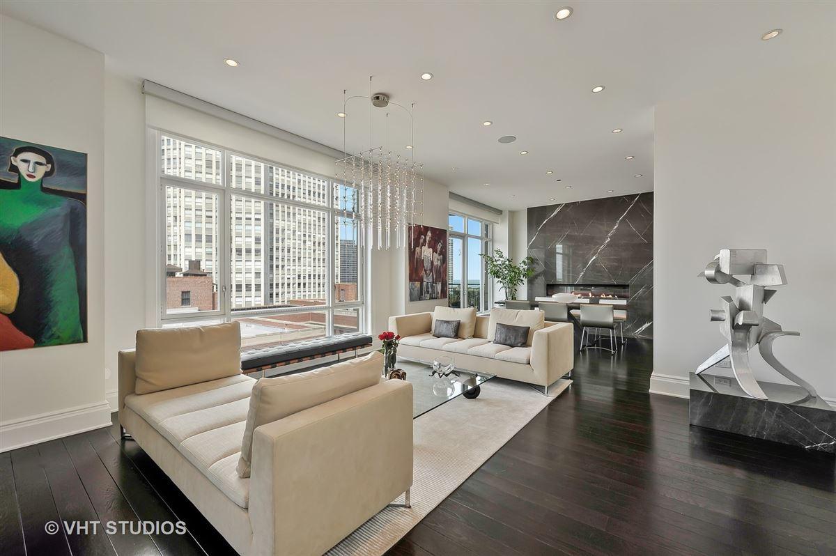 Luxury real estate Sophisticated corner apartment