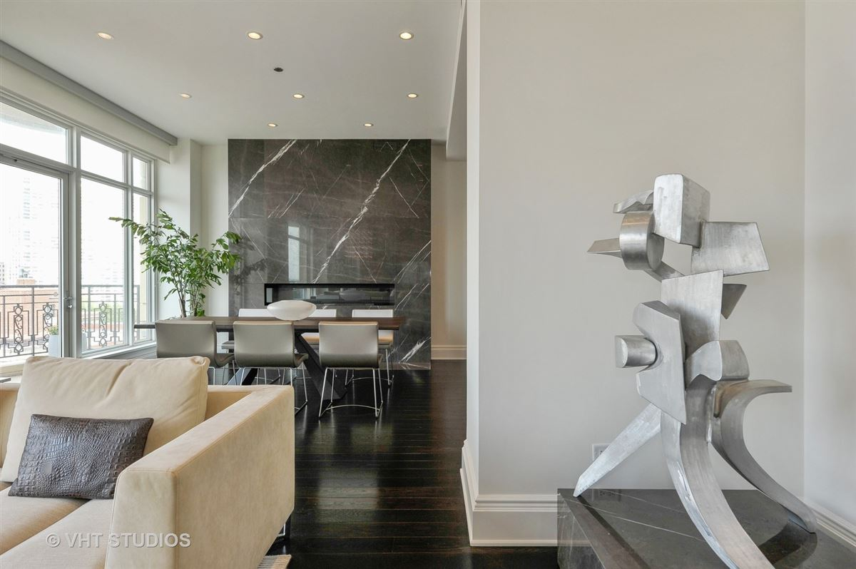 Sophisticated corner apartment luxury real estate