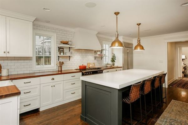 gorgeous renovation in the heart of Lake Ellyn  luxury properties