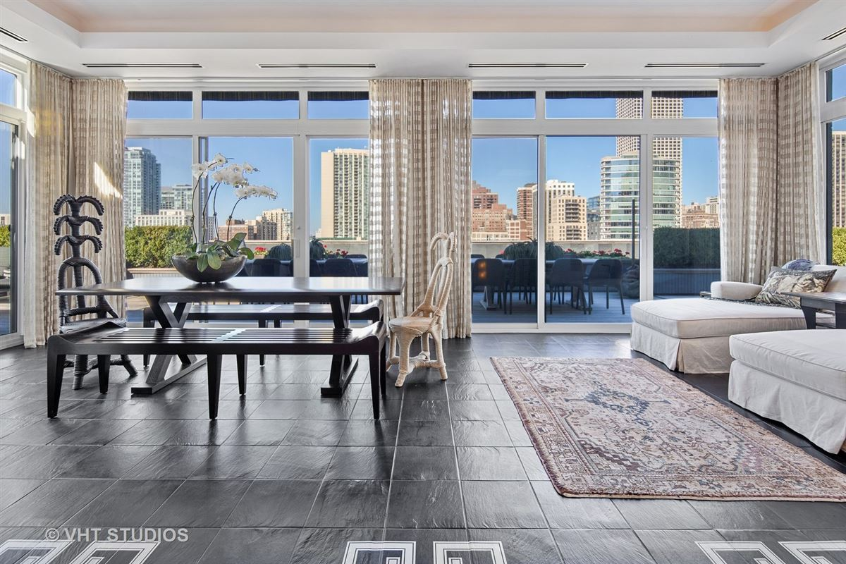Luxury real estate incredible two-story penthouse in the Gold Coast