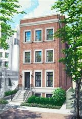 Luxury real estate exceptional new construction home in east Lincoln Park