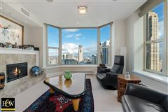 Mansions in penthouse in the luxurious Fordham