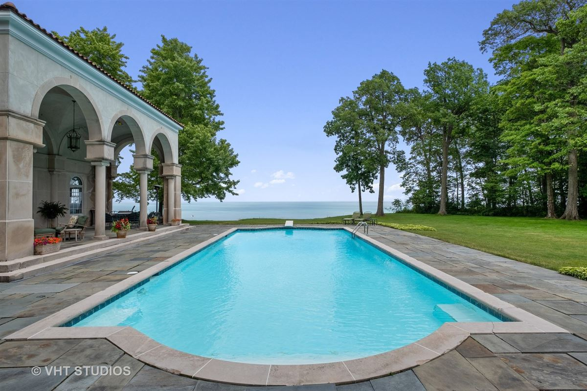 Luxury properties Spectacular 2.48 acre lakefront estate