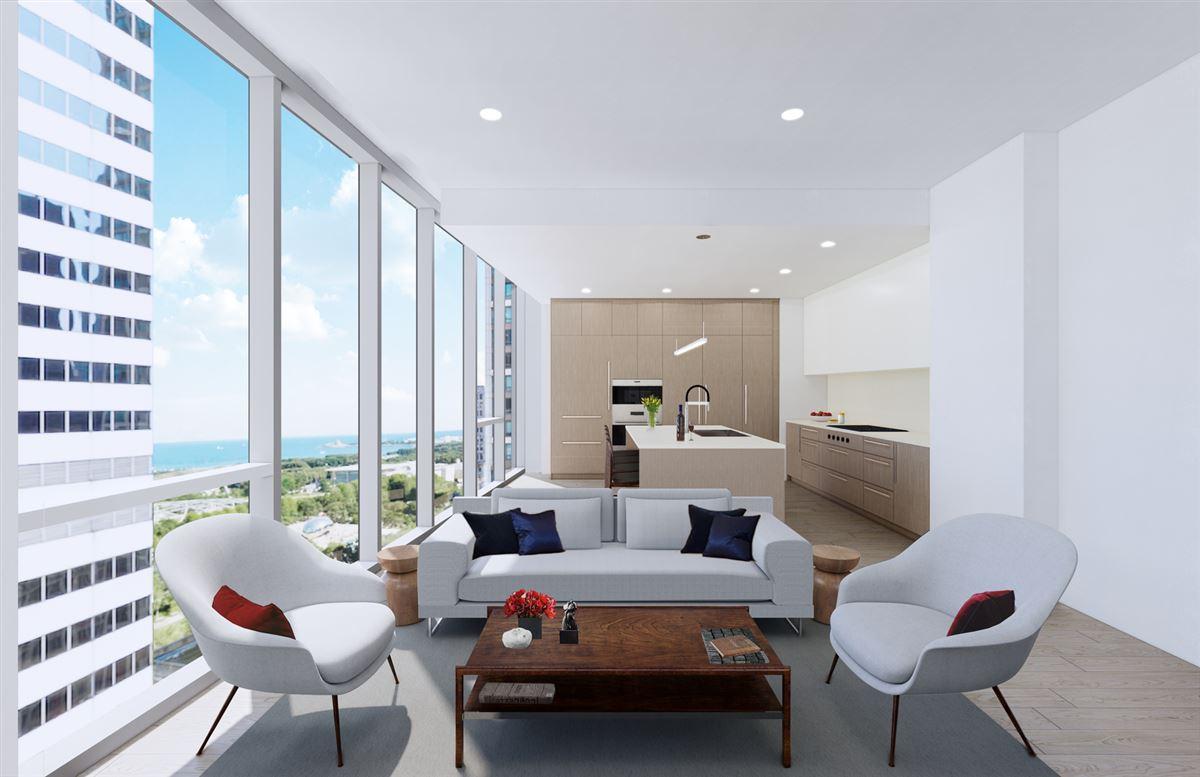 Luxury homes Parkline Chicago in the loop