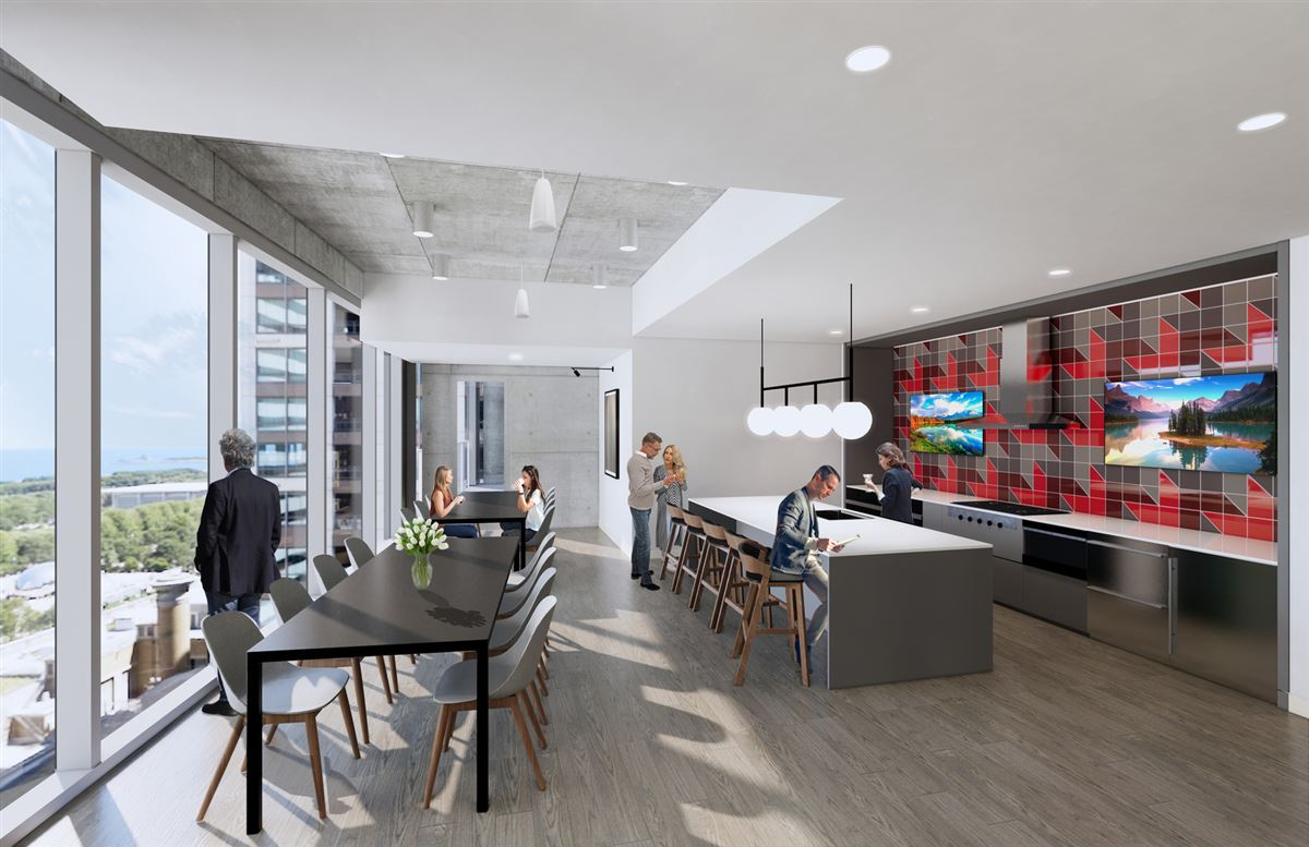 Luxury homes in Parkline Chicago in the loop