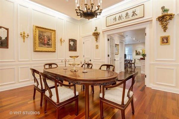 Luxury real estate grand georgian home