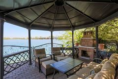 Luxury real estate SPECTACULAR SETTING ON LAKE WALLOON