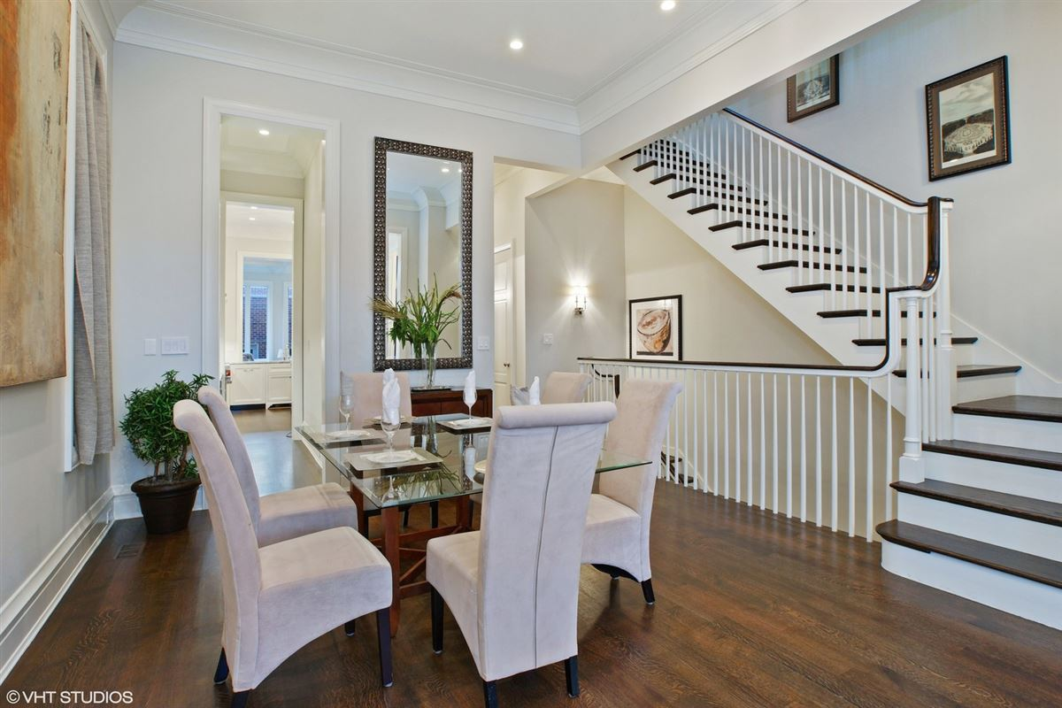 Luxury homes six bedroom single family home on fabulous tree-lined street