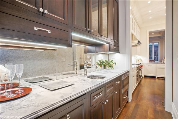 Luxury real estate six bedroom single family home on fabulous tree-lined street