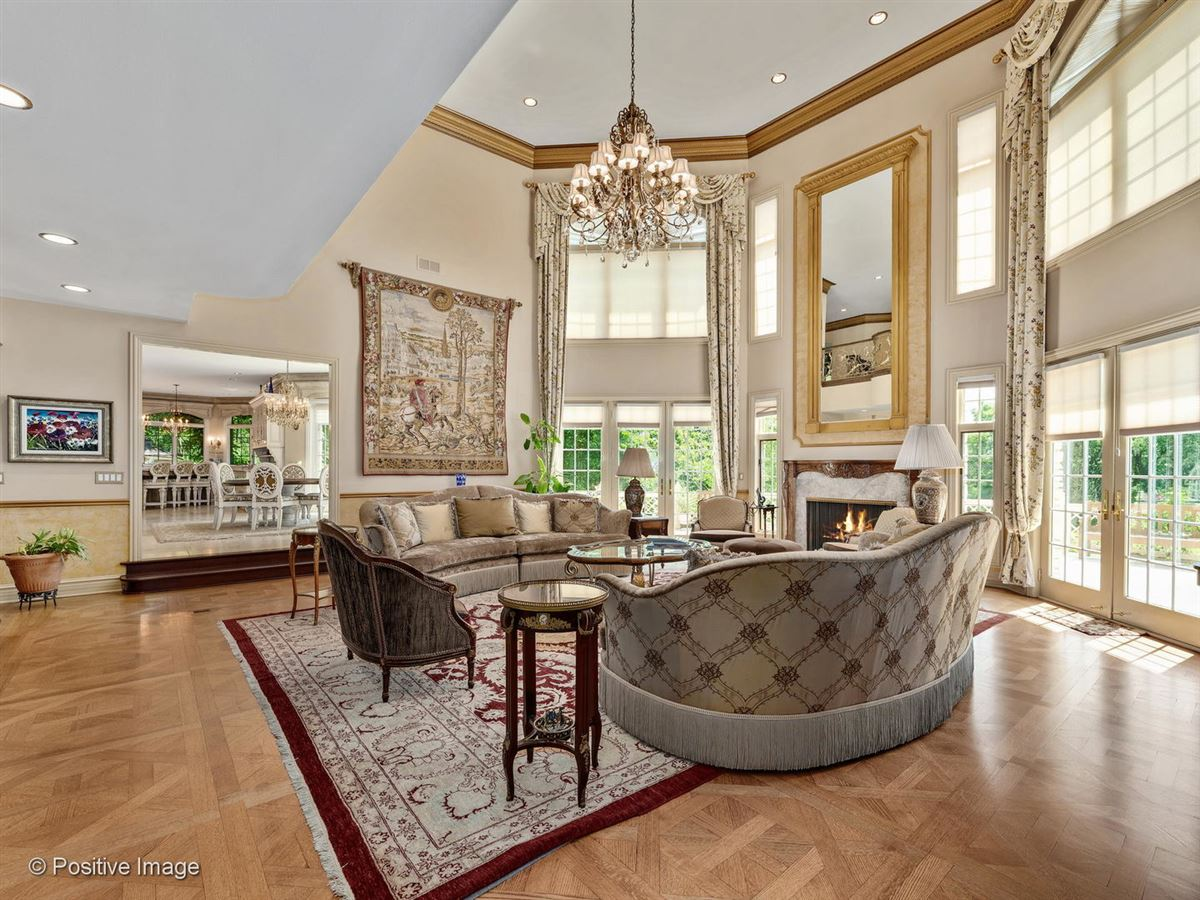 Luxury homes Majestic all stone estate