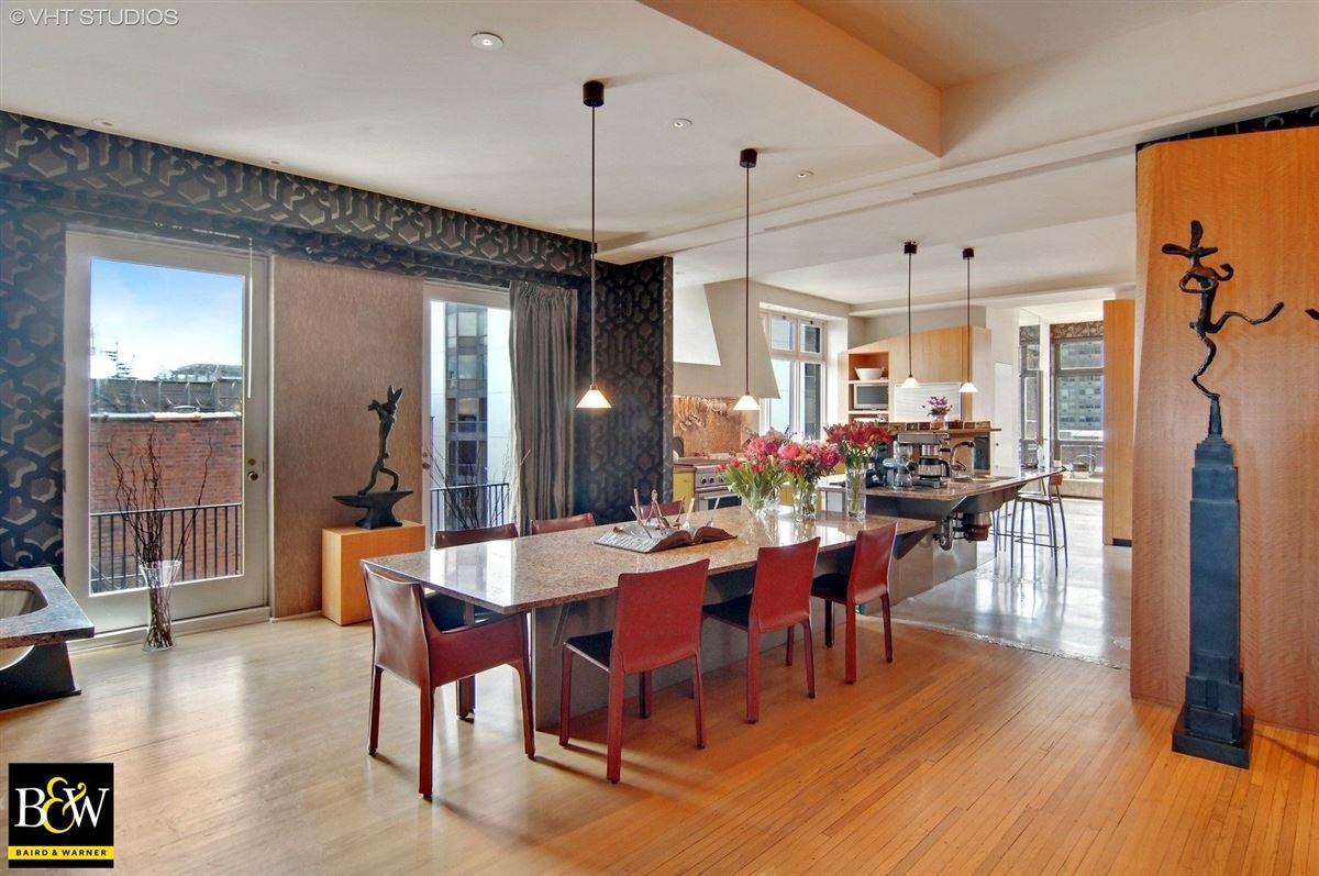 elegant half floor penthouse residence luxury properties