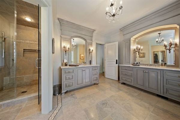 Luxury real estate luxurious French chateau style home