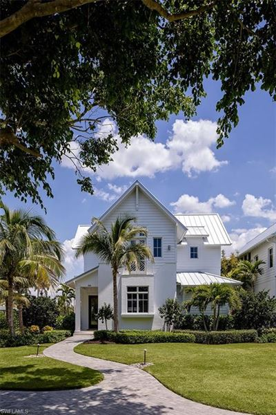 Exceptionally located naples home mansions