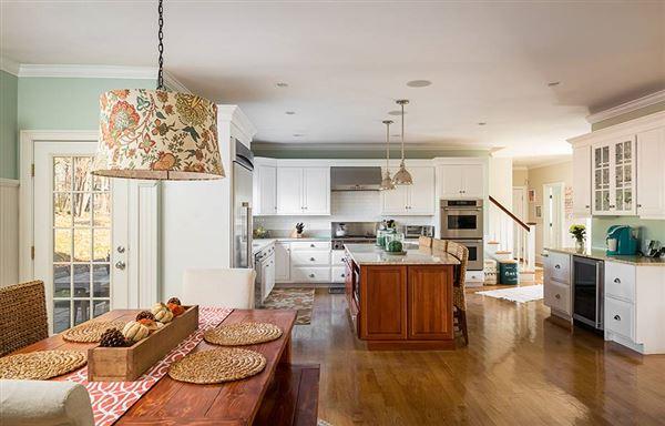 Luxury real estate stunning custom built colonial