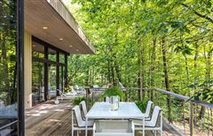 Luxury real estate Mid Century Modern set in Historic Middlebury