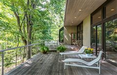 Mid Century Modern set in Historic Middlebury  luxury real estate
