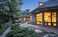 Luxury properties Stunning home offers views of the ocean