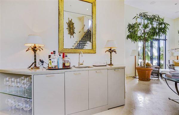Mansions in Modern Mediterranean masterpiece