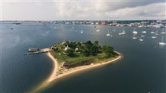 Luxury properties private island located off the coast of Fairhaven