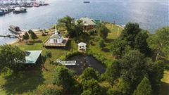 Mansions private island located off the coast of Fairhaven