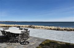 Luxury real estate front row position on Long Island Sound