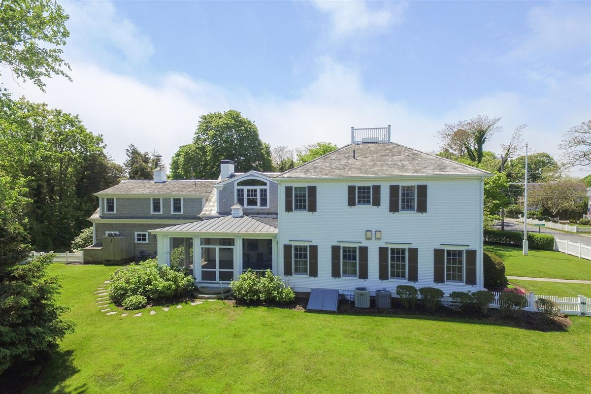 Luxury real estate striking captains style home in wonderful location