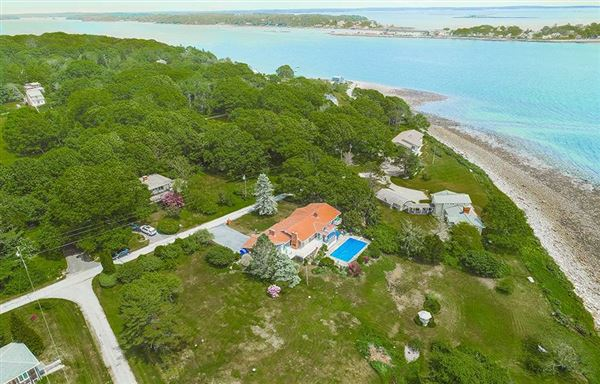 Breathtaking open ocean views in harpswell luxury homes