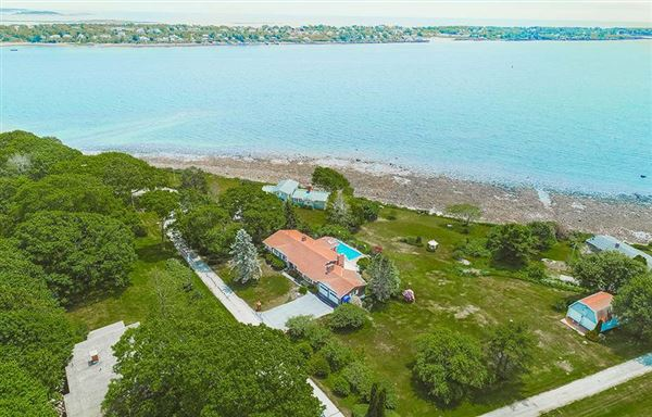 Luxury real estate Breathtaking open ocean views in harpswell